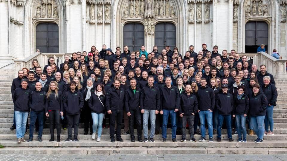 Gita aziendale in Belgio