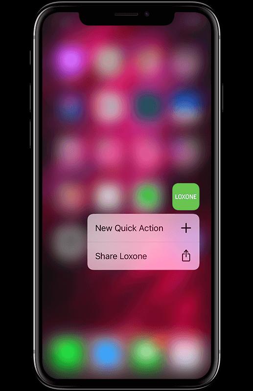 Smart Home App - Quick Actions