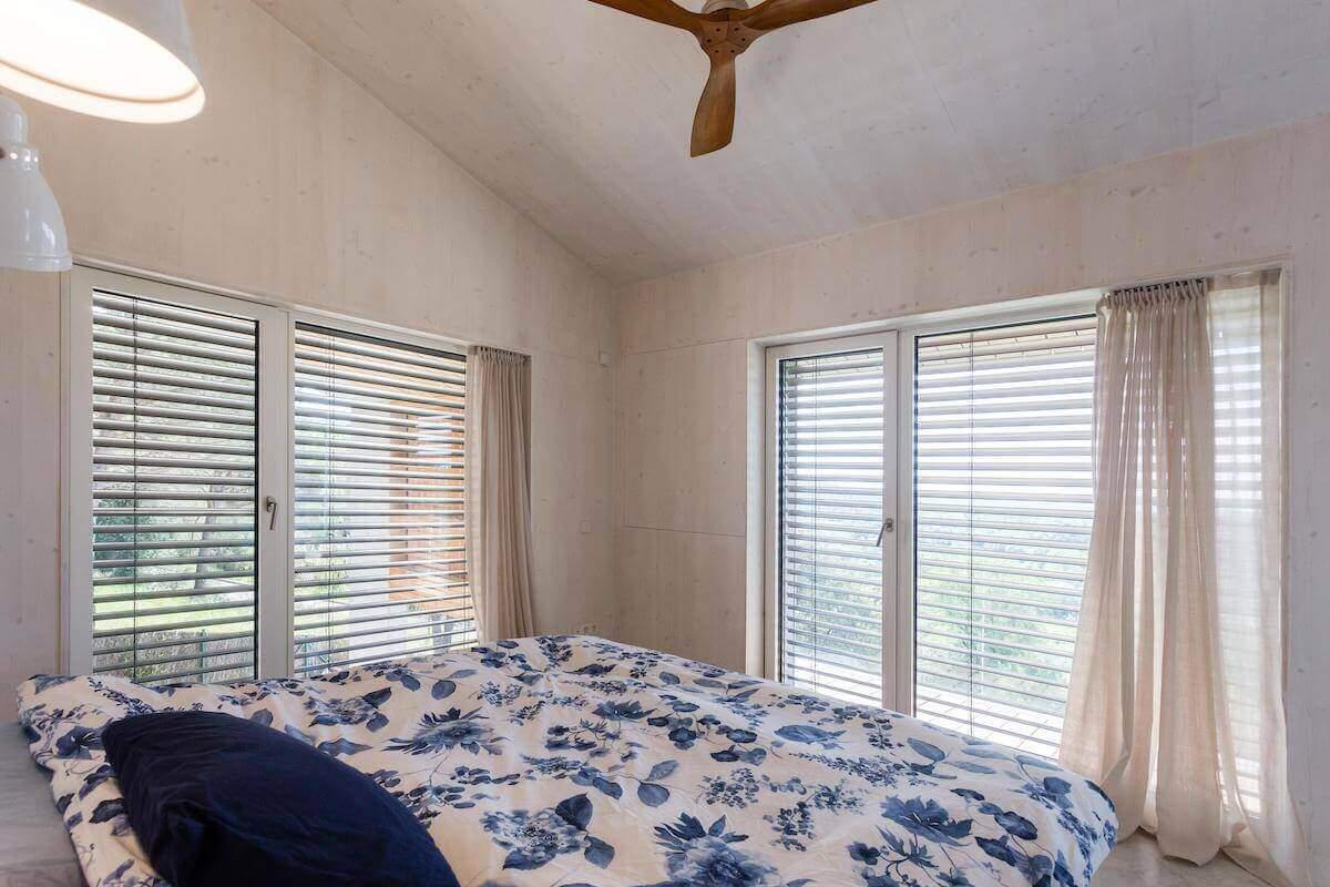 Schlafzimmer-des-Passivhaus-Girona