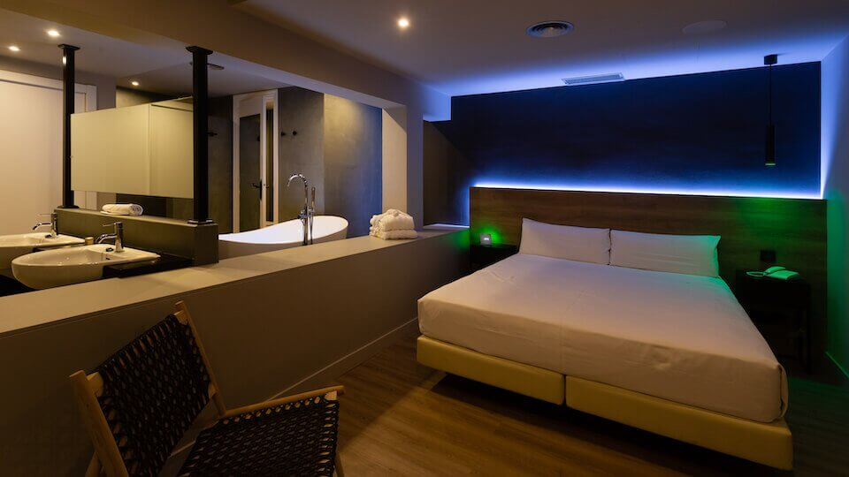 Le camere intelligenti dell'albergo Mas de la Sala