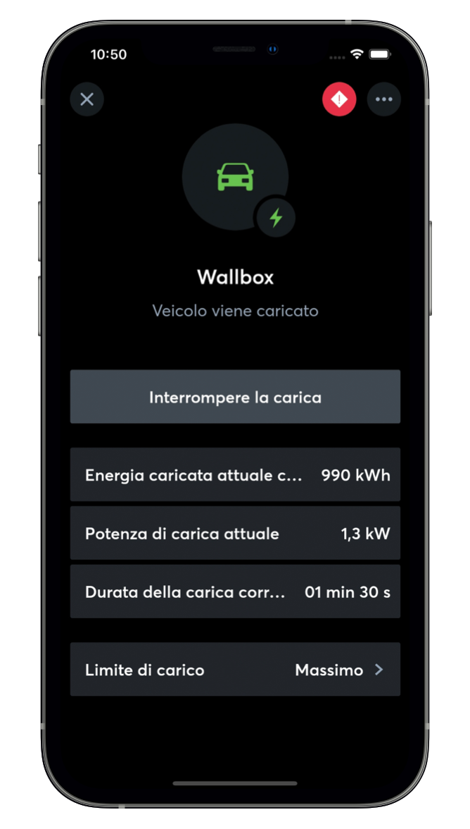 Wallbox App Loxone
