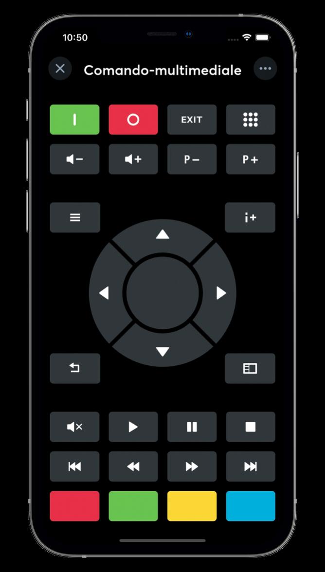 Media Controller con l'App Loxone