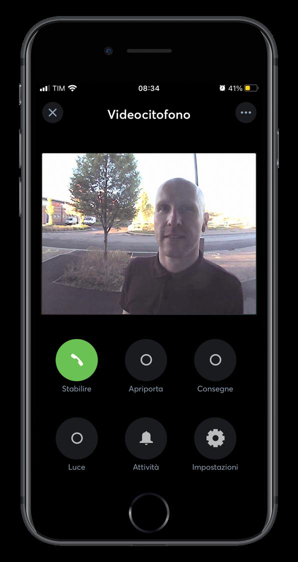 Smart home app controllo videocitofono
