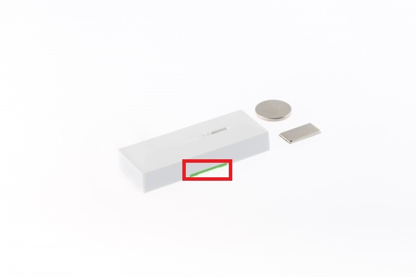 elf-adhesive magnetic contact