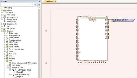 Set-up RGBW dimmer DMX stap 4
