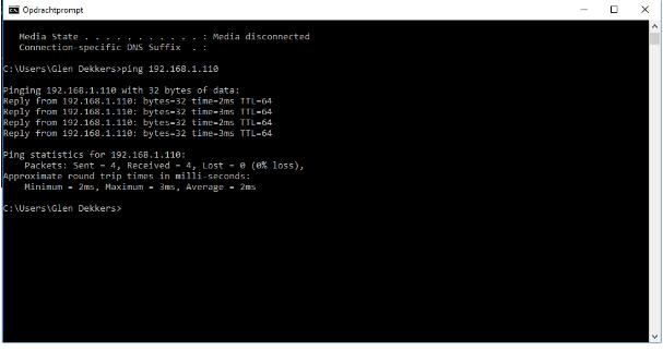 bereikbaarheid IP