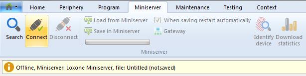 loxone miniserver update