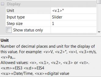 Display virtuele output