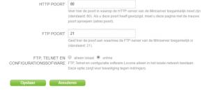 Loxone port forwarding - Adz