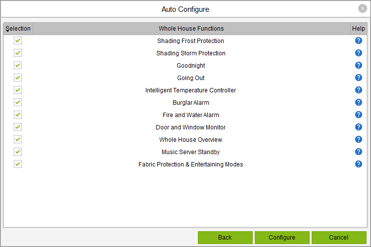 Auto-Konfiguration