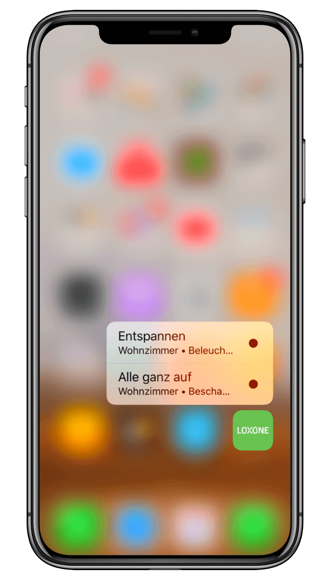 Smart Home App - Quick Actions