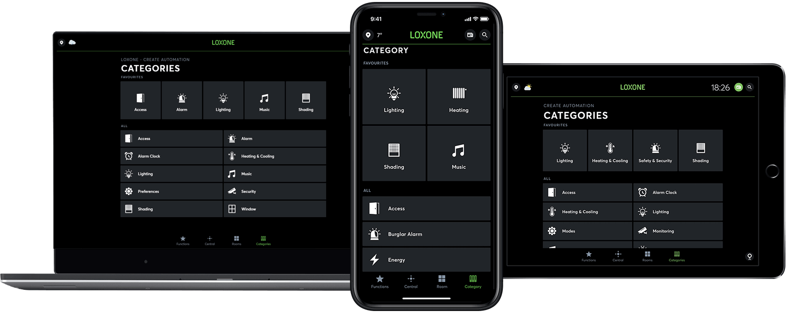 Smart Home App - several devices