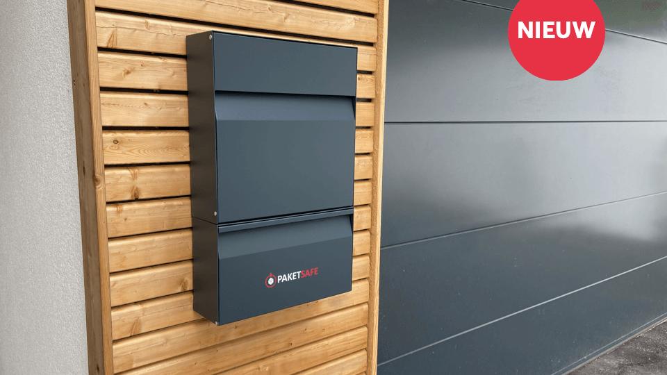 's Werelds eerste intelligente pakket- en brievenbus