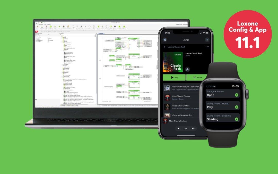 Nieuw: Loxone Config en App 11.1