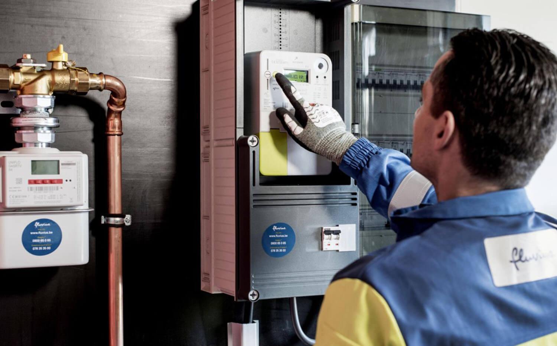 digitale elektriciteit meter uitlezen