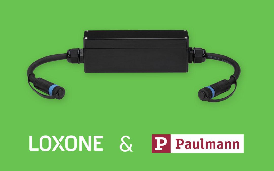 Plug & Shine Connection Box in samenwerking met Paulmann