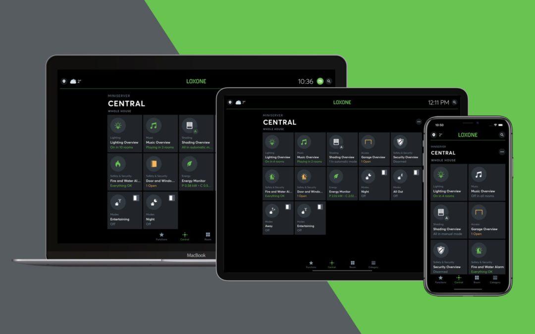 Nieuw: Loxone App 11.2.2