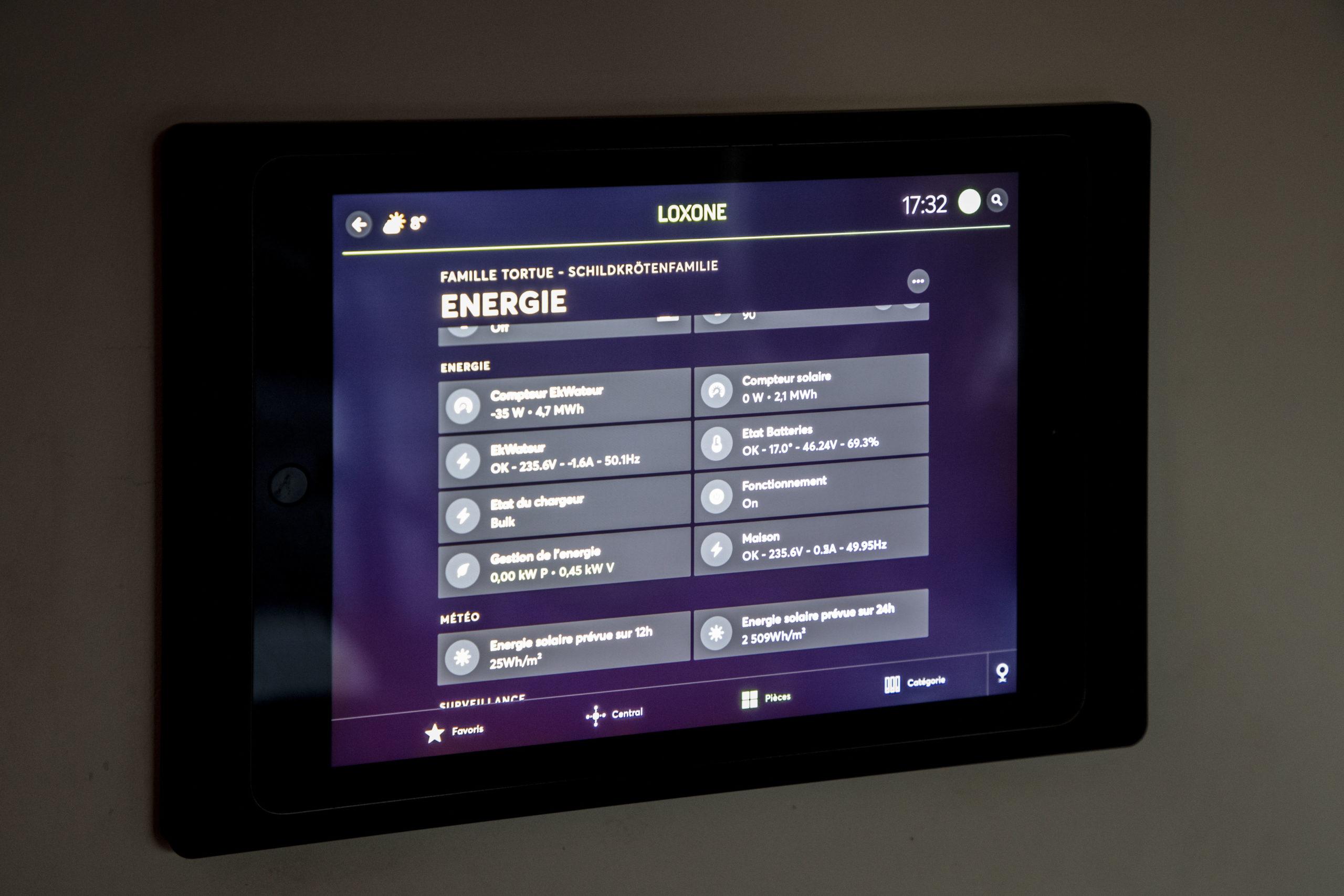 Visualisation App Loxone Config