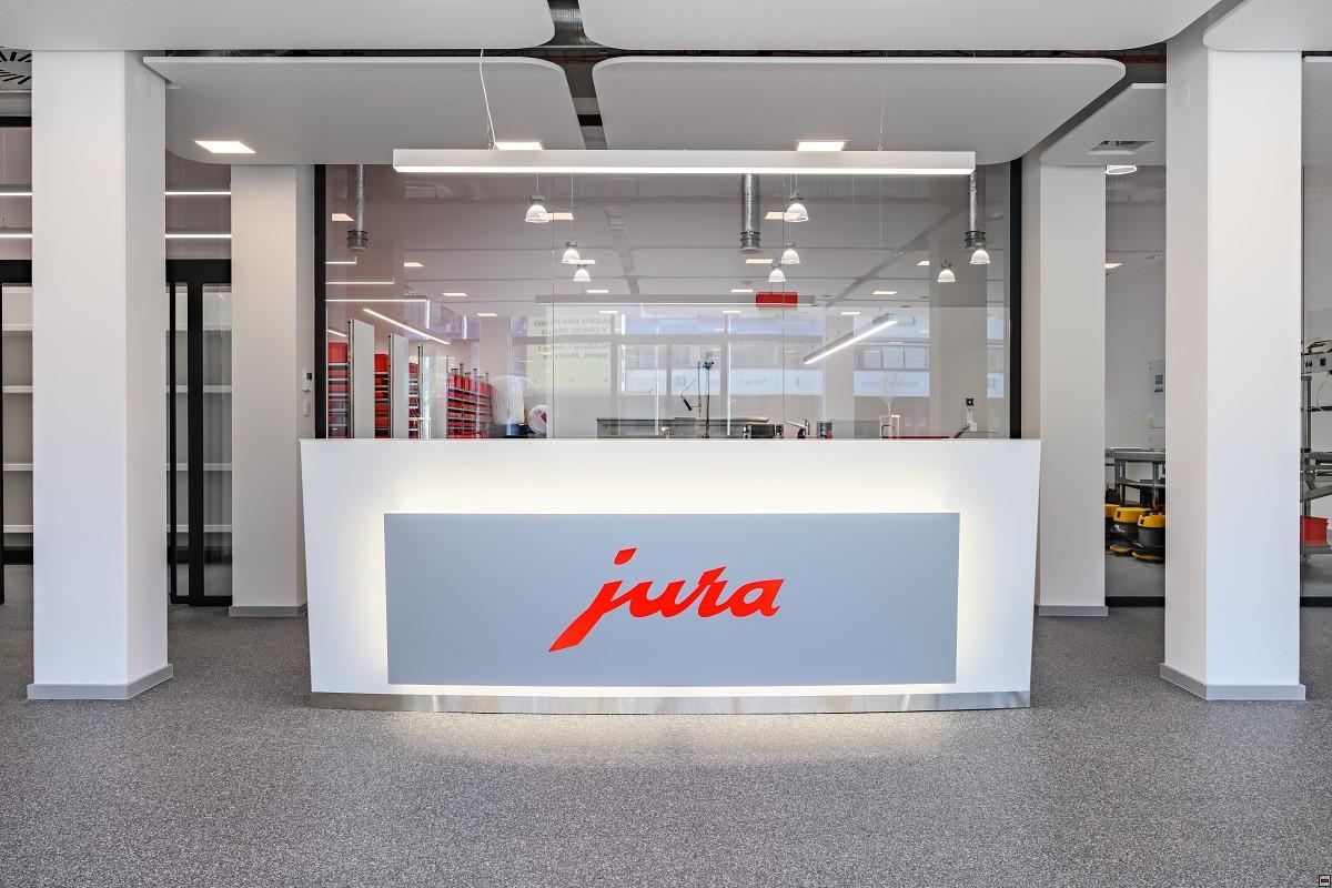 Inteligentná automatizácia spoločnosti Jura