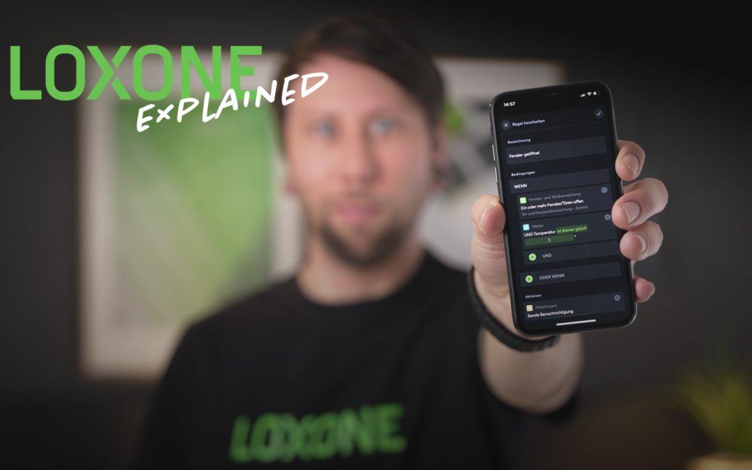 Automatisatie Designer: logica direct in de app implementeren – Loxone Explained