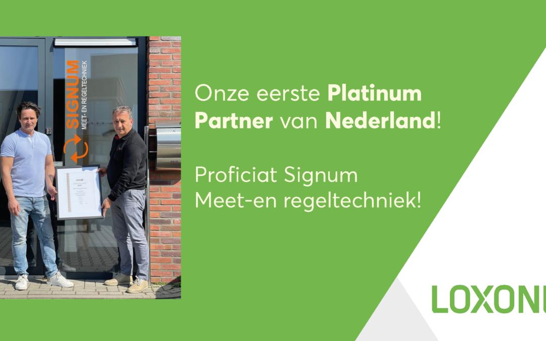 Signum Meet- en Regeltechniek: de eerste Platinum Partner in Nederland