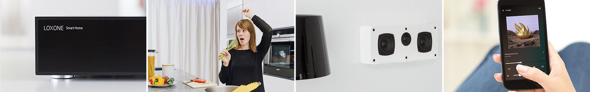 Kolaż - system multiroom audio i multimedia w inteligentnym domu