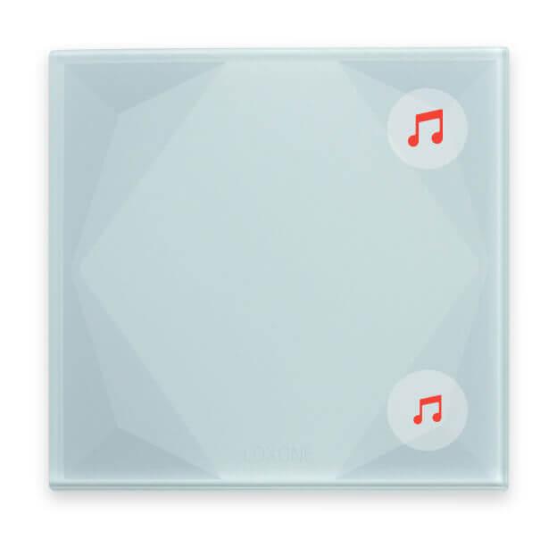 Przycisk Touch Pure i sterowanie muzyką