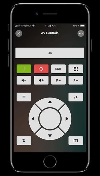 Aplikacja Loxone: sterowanie multimediami
