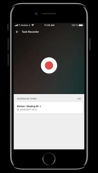 Aplikacja Loxone: planowanie zadań