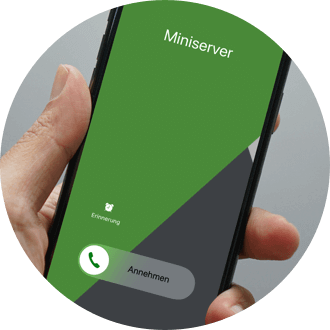 Smartfon z usługą Caller Service