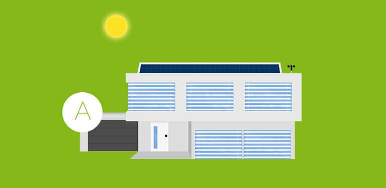 Przykład - oszczędny tryb automatyczny domu.