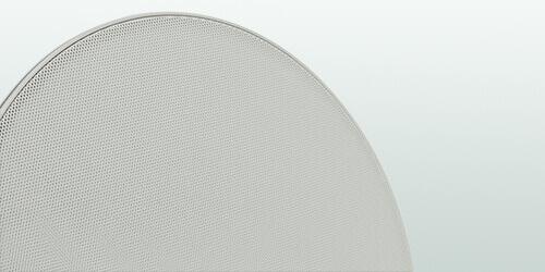 Biała membrana na głośnik