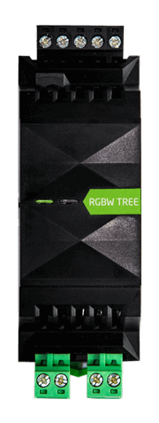 loxone rgbw dimmer tree