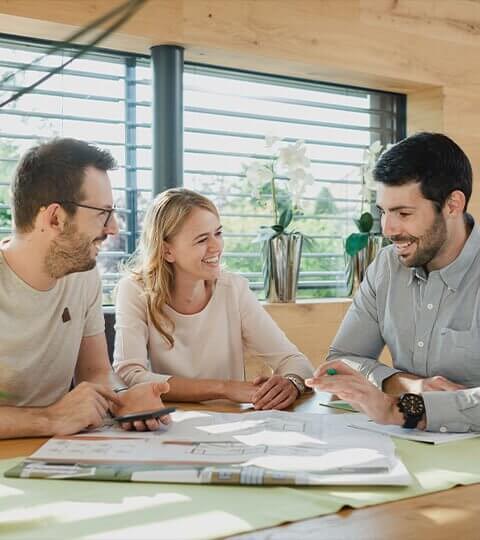 konzultace projektu montovaného domu