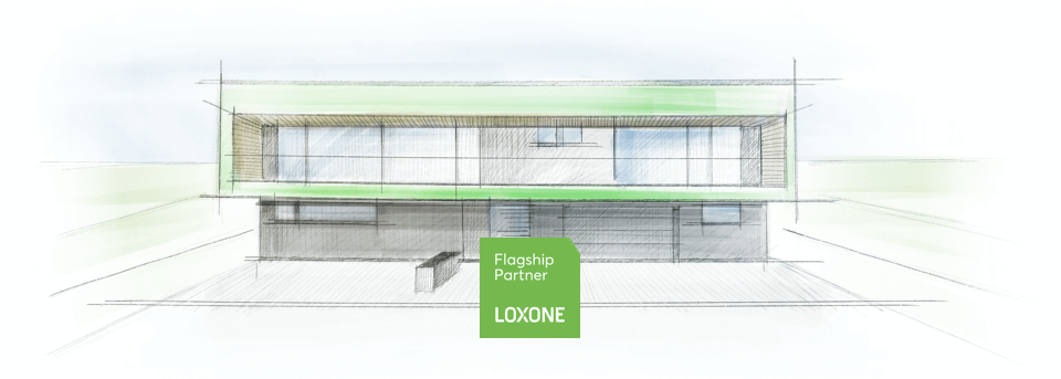 Scribbling Loxone Flagship Partner