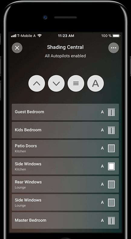 Zdalne sterowanie żaluzjami i roletami w aplikacji mobilnej