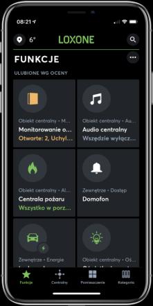 Aplikace Loxone