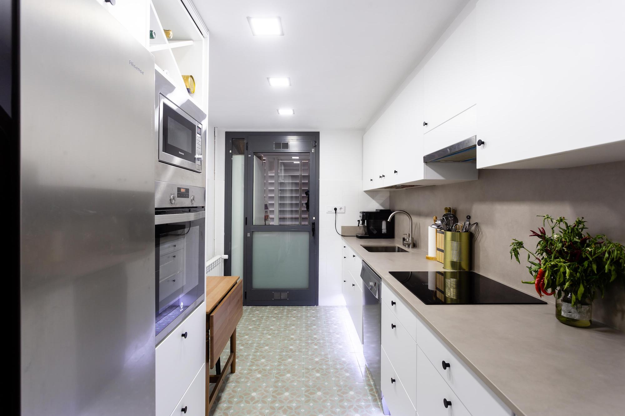 Kuchnia w inteligentnym mieszkaniu