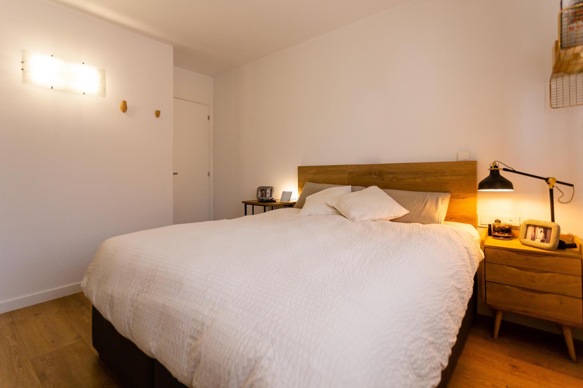 Sypialnia w inteligentnym mieszkaniu