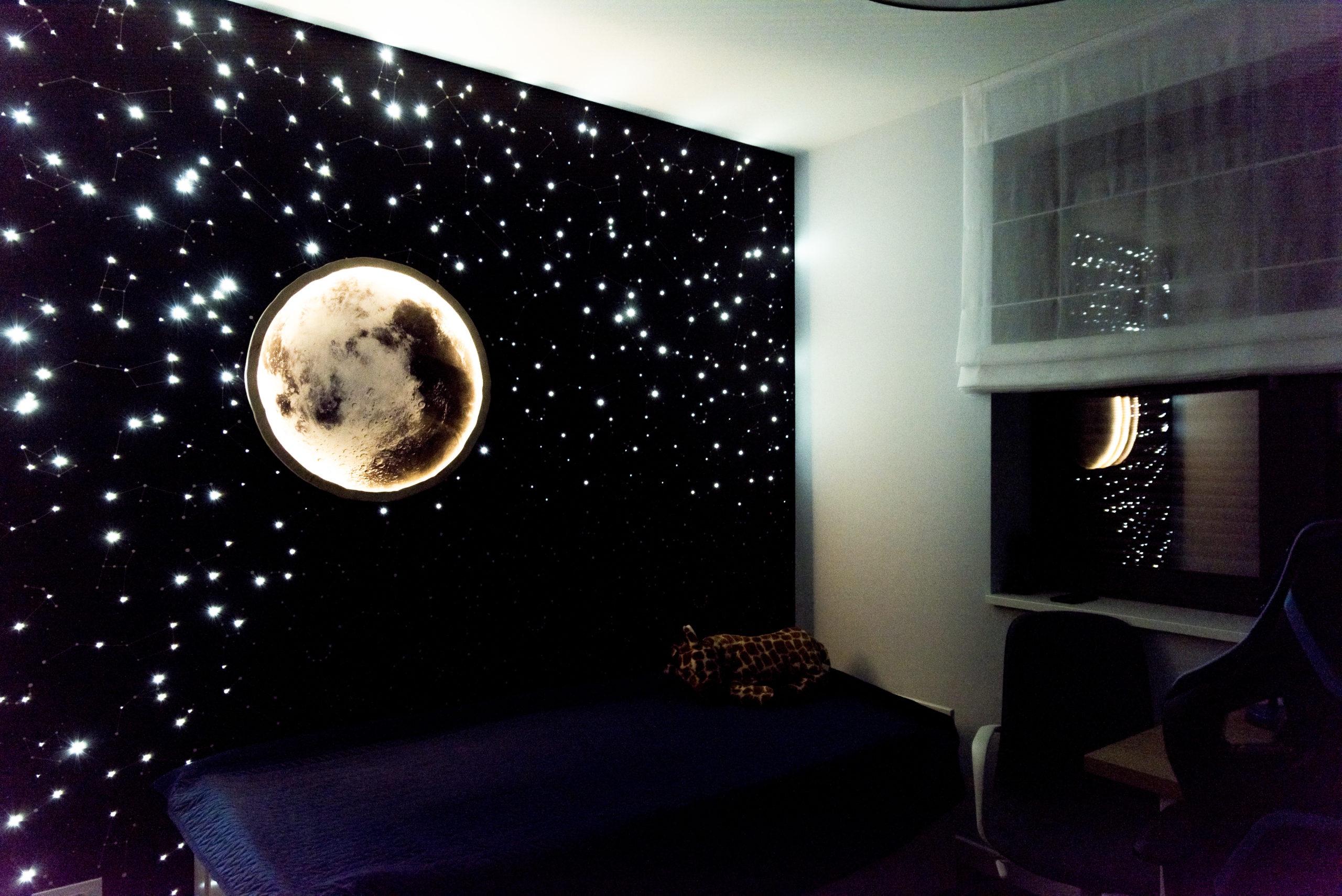 Pokój z księżycem