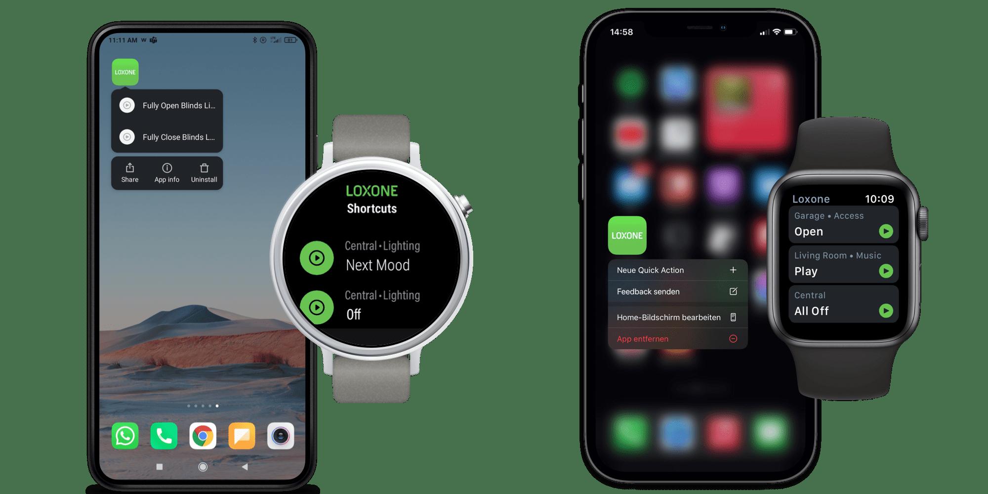 Obsługa Apple Watch i Android Wear OS
