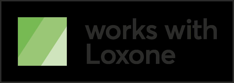 Works with Loxone logo