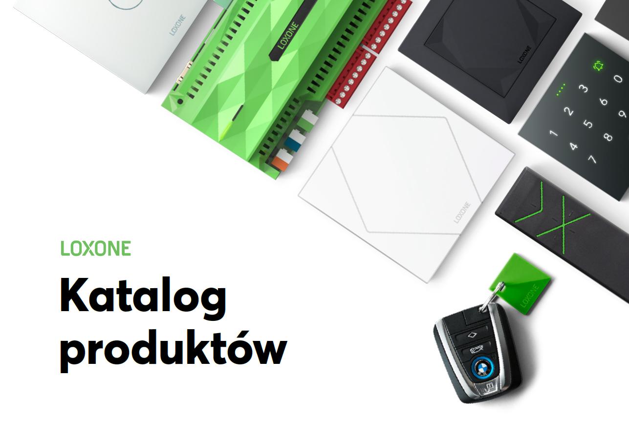 Katalog produktów Loxone