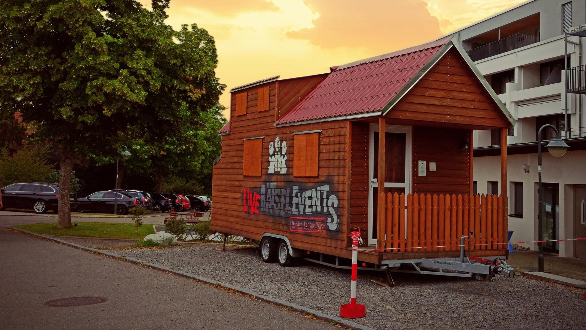 Live Rätsel Events - Tiny House