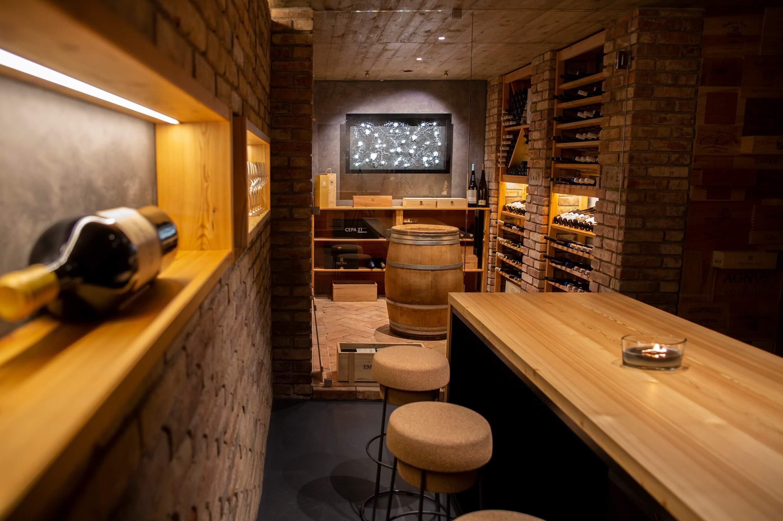 Vínna pivnica v Brne