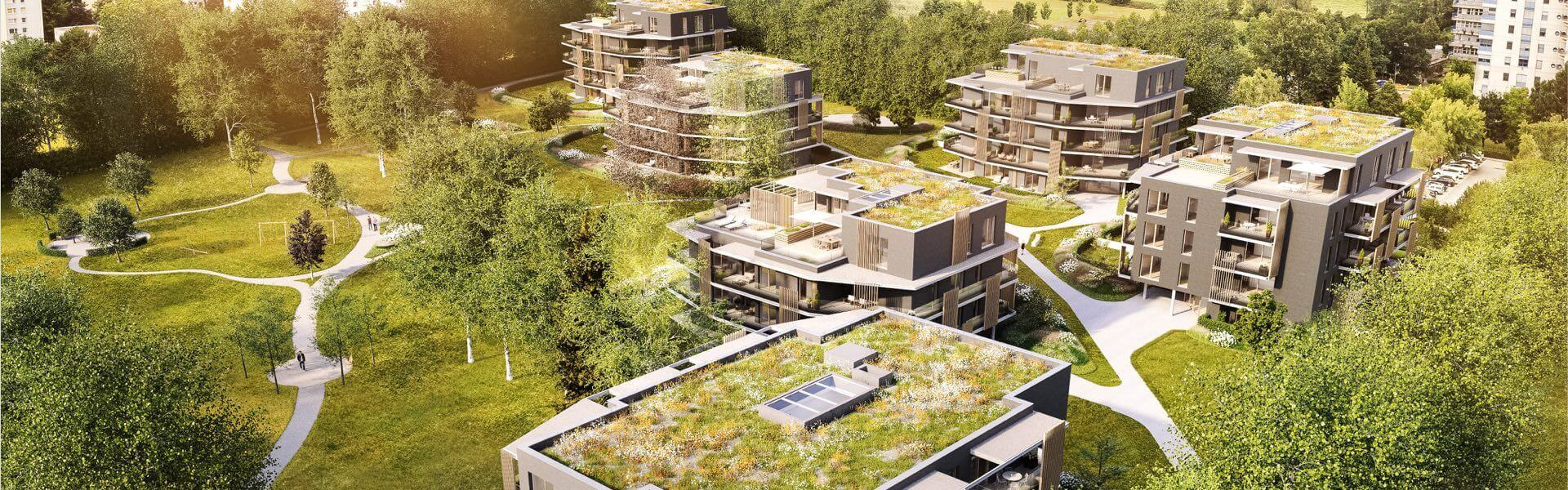 Smart Home im Wohnbau mit Loxone