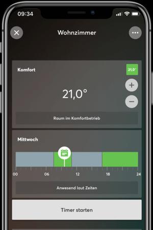 Energie sparen mit der Loxone App