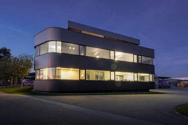 Pohľad na budovu Träumeland