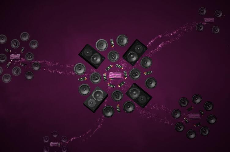 Loxone Audio produkty