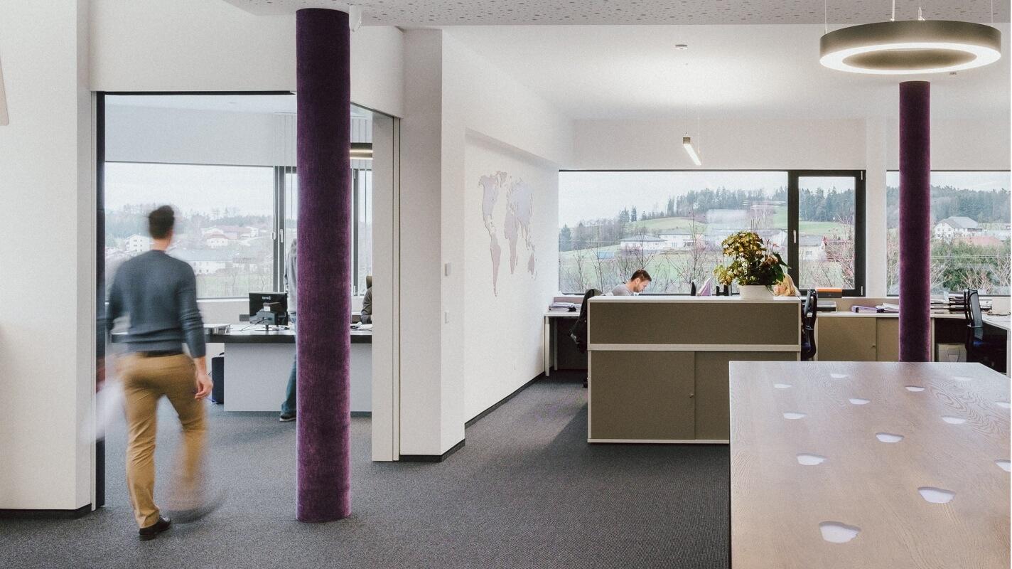 Pohľad na kanceláriu